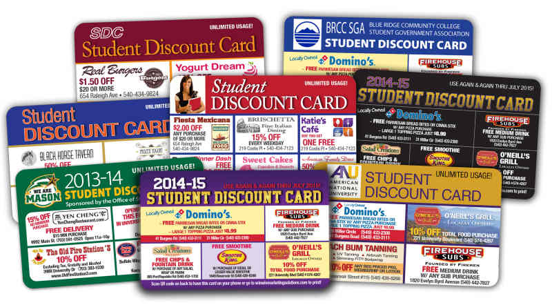 Student Discount Cards