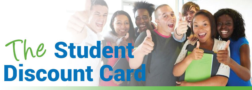 Discount cards for students