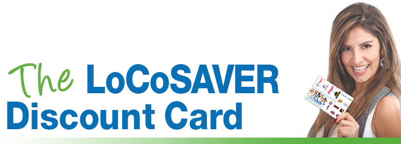 LoCoSAVER Discount Card